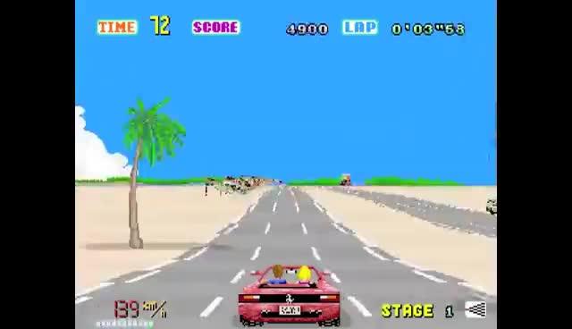 arcade, coin op, game, outrun, sega, OUTRUN-arcade-2 GIFs