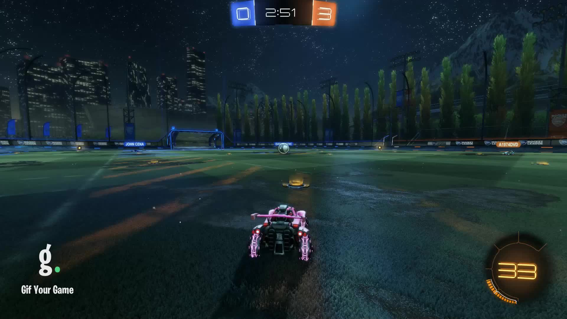 Gif Your Game, GifYourGame, Goal, Rocket League, RocketLeague, Sygnosis, Bloop GIFs