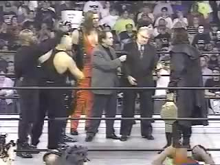 Watch WCW Heavyweight Title is vacated after Starcade 1997 GIF on Gfycat. Discover more hollywood, speaks, sting GIFs on Gfycat