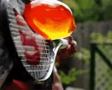 Watch and share Jello Tennisracket GIFs on Gfycat