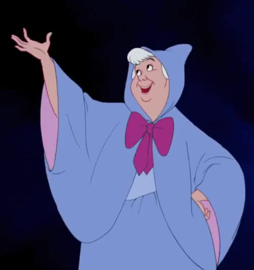 Watch Cinderella (1950) GIF on Gfycat. Discover more 1950, 1950s, animation, cartoons, cinderella, cinderella gif, disney, disney gif, fairy godmother, magic wand, my gif, vintage GIFs on Gfycat