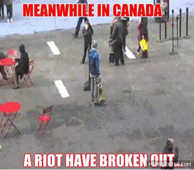 Watch and share Canada Funny GIFs on Gfycat