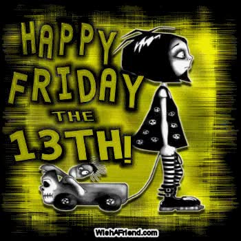 Watch and share Happy Friday The 13th Picture GIFs on Gfycat
