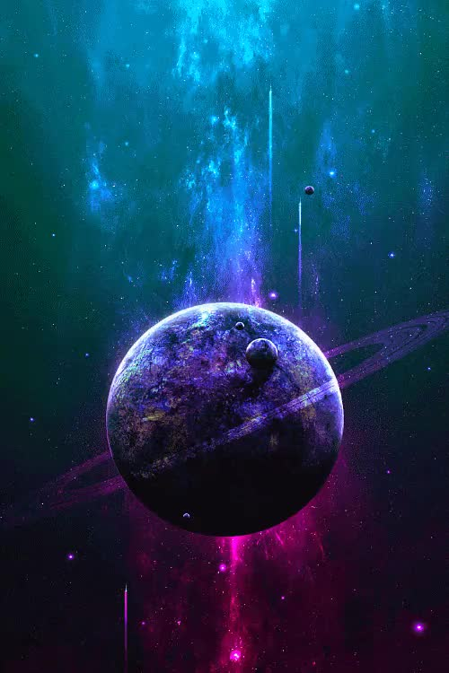 Watch Untitled en We Heart It. GIF on Gfycat. Discover more beatiful, galaxy, milk way, planets, space, star wars, the universe, trippy gif GIFs on Gfycat