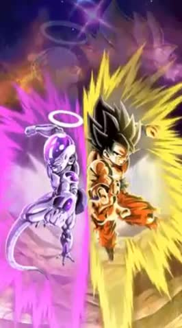 Exolarius, Art Animation for Goku & Frieza GIFs