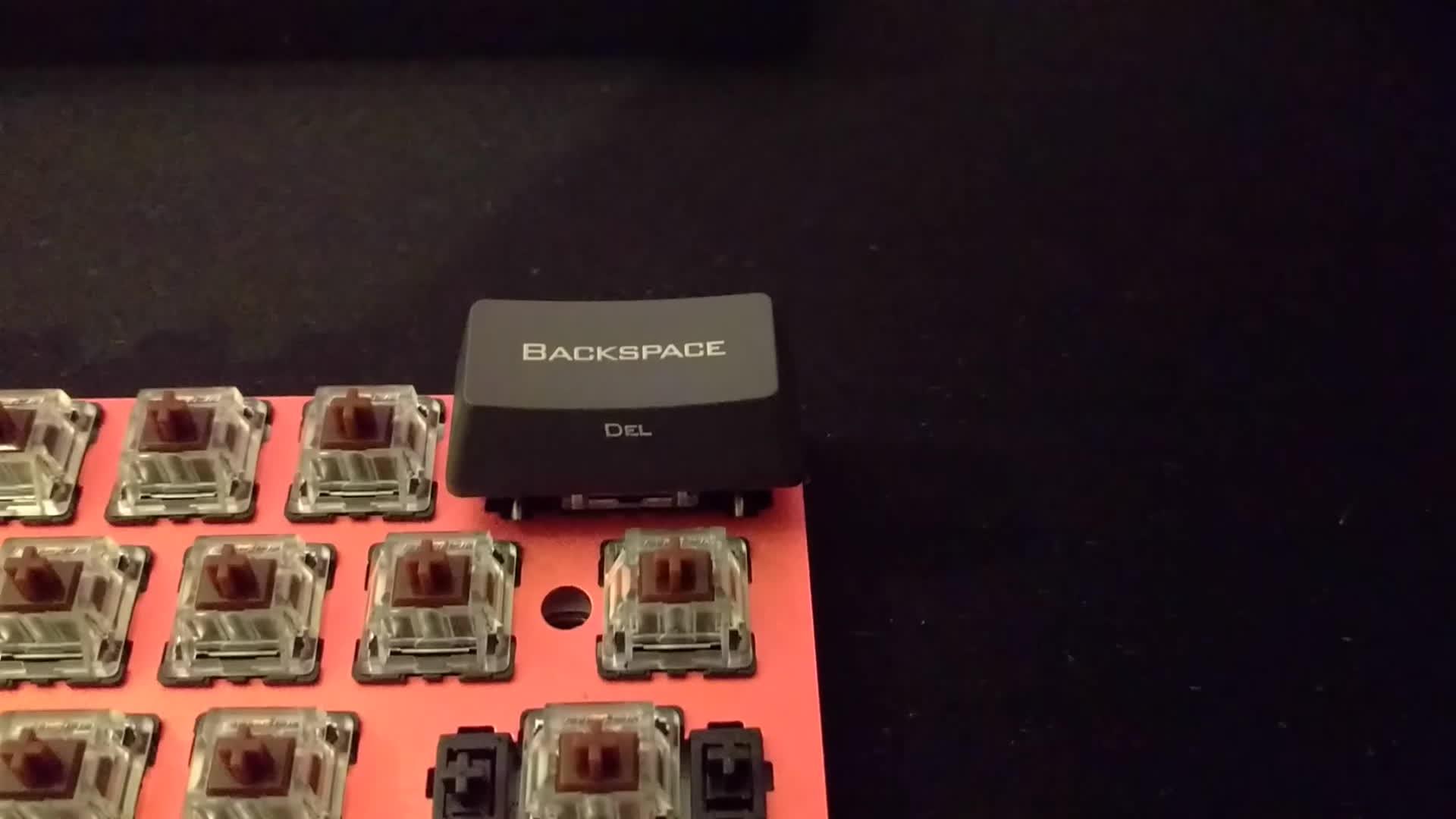 MechanicalKeyboards, New PCB Poker Backspace GIFs