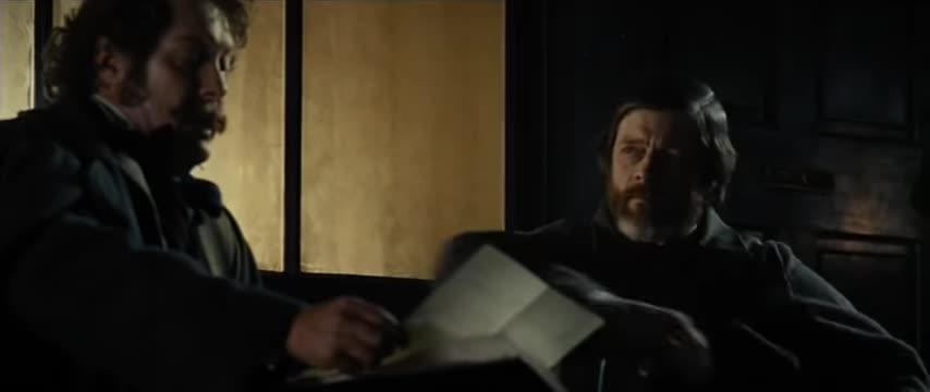 e.j. westlake, lincoln (film), people & blogs, pistol, reload, Mr. Bilbo escapes being shot by a Congressman - Lincoln (2012) GIFs