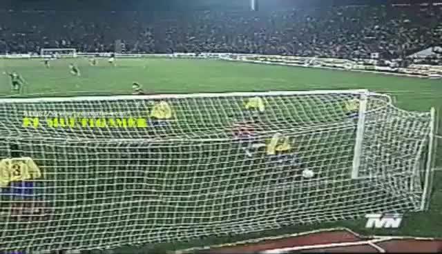 Compacto: Chile 4 vs Ecuador 1 /  Rumbo a Francia 98 - Estadio Nacional 1996