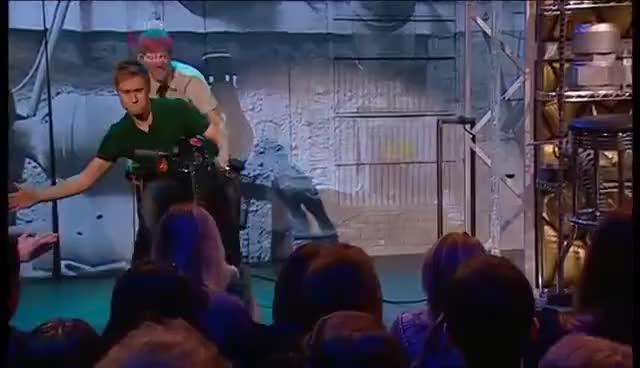 Russel Howard handshake fail.