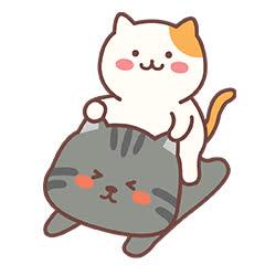 animated, cat emoji, cat emoticons, sticker, transparent, I like your cat emoji chat expression img emoticons GIFs