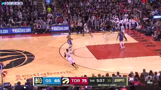 Watch and share Klay Thompson 2019 GIFs and Toronto Raptors GIFs by jeebs9 on Gfycat
