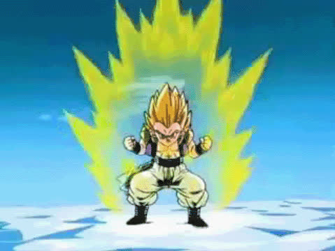 Super saiyan one is used by Broly,Goku,vegeta,gohan,goten,trunks,bardo GIFs