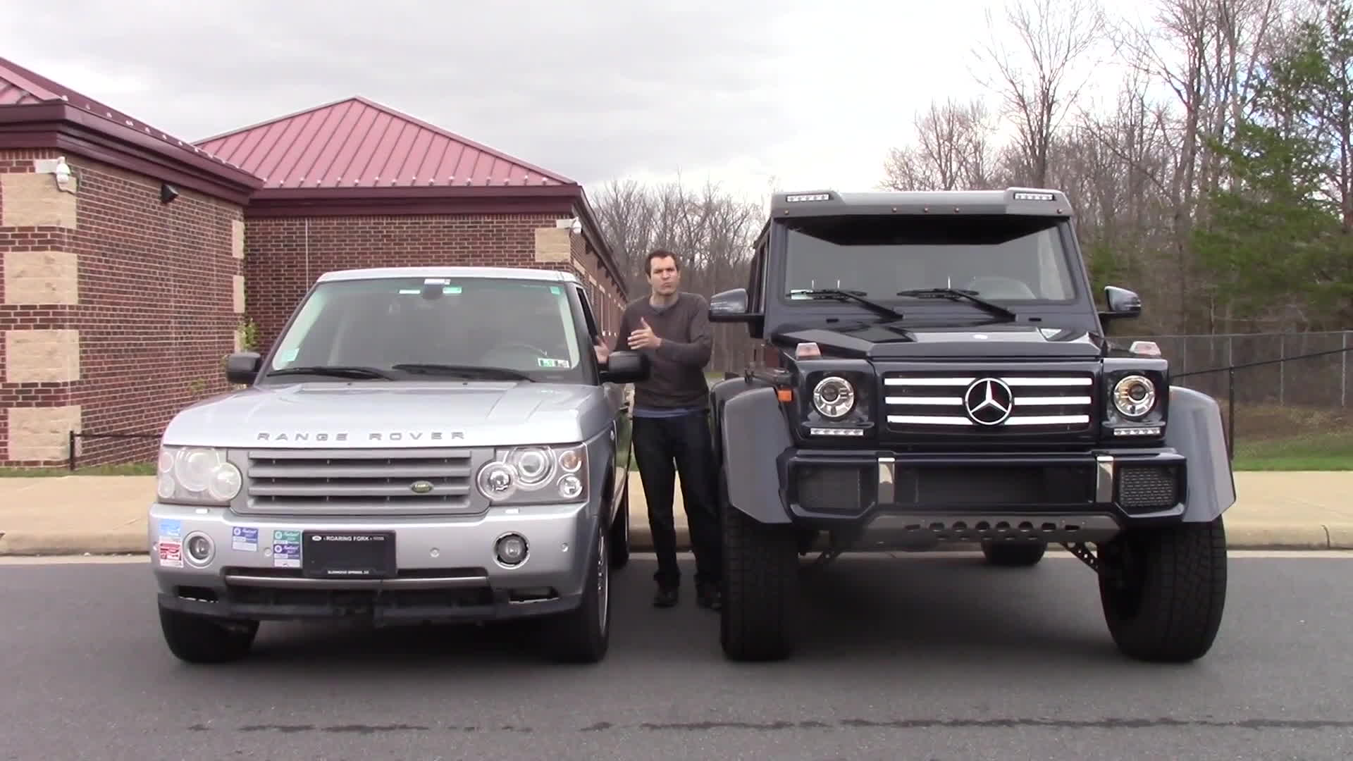 4x4 squared, g-wagen 4x4 squared, mercedes g-wagen, The Mercedes G550 4x4 Squared Is a $250,000 German Monster Truck GIFs