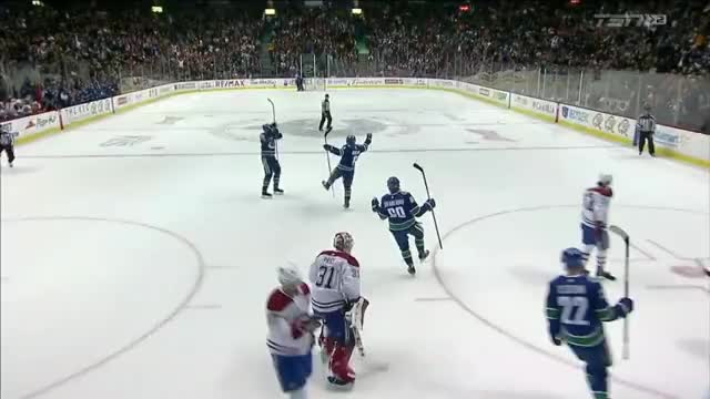 Watch Boeser Goal 18 vs Habs TSN Replays GIF by yosoo5000 on Gfycat. Discover more related GIFs on Gfycat