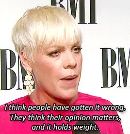 Watch this music GIF on Gfycat. Discover more Alecia Moore, P!nk, body shaming, bullying, feminism, music, p!nk, pink, pinkmine GIFs on Gfycat