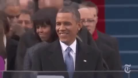 Watch and share Inauguration 2013 GIFs on Gfycat