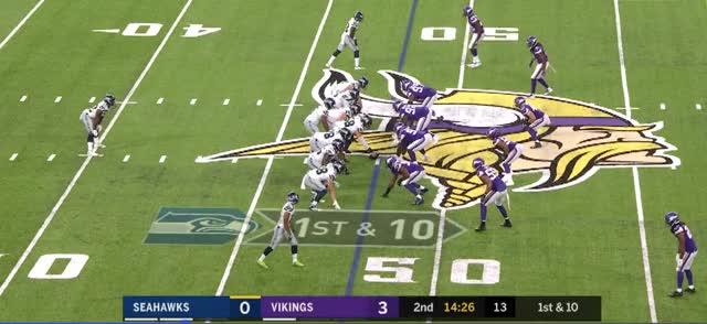Watch and share Minnesota Vikings GIFs and Seattle Seahawks GIFs by vikingscorner on Gfycat