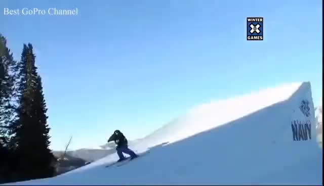 Watch and share Winter X Games Slopestyle Compilation Men GIFs on Gfycat