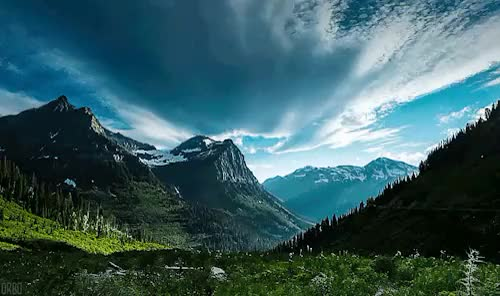 Watch Glacier National Park, Montana. GIF on Gfycat. Discover more cinemagraph, gif GIFs on Gfycat