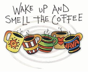 Watch and share Wake Up And Smell The Coffee / Coffee GIF / Coffee Shop Stuff GIFs on Gfycat