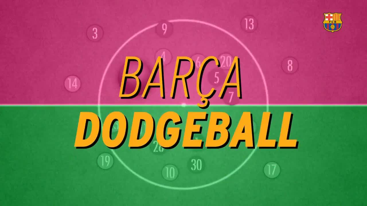 Barça Dodgeball GIFs