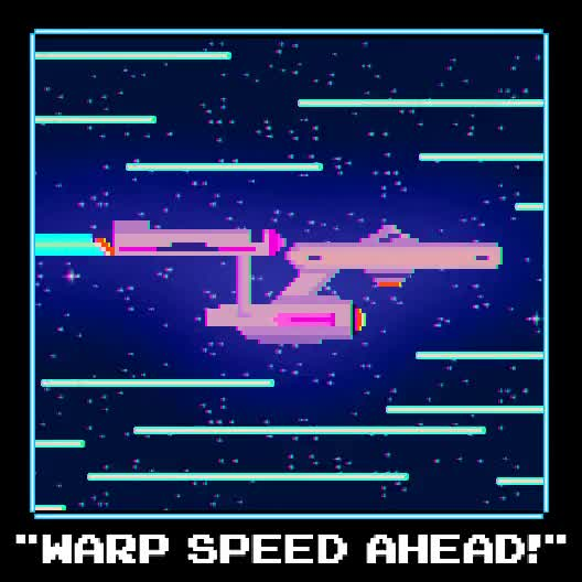Watch and share Warp Speed GIFs on Gfycat