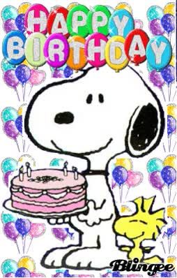 Watch and share Happy Birthday Crystal, Celebrate And Enjoy Your Day. Sending You Hugs And Kisses From TJ To You From Luis And Debra Xo GIFs on Gfycat