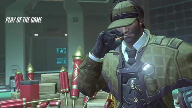 Watch and share Overwatch GIFs and Mccree GIFs by Trox on Gfycat