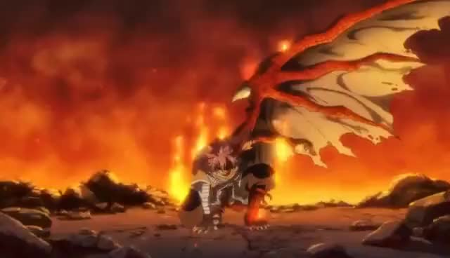 Watch and share Fairy Tail Dragon Cry 2017 Official Trailer #1  [HD] GIFs on Gfycat