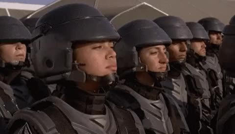 Watch and share Troopers GIFs on Gfycat