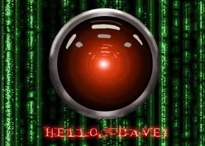 Watch and share Hal 9000 Matrix By The-Desert-Tiger GIFs on Gfycat