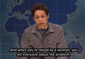 pete davidson, saturday night live, snl, snledit, weekend update, The Comfortador GIFs