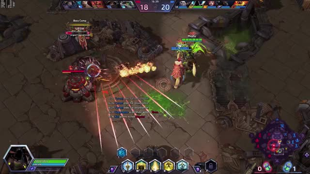 Watch and share HotS - Warhead Junction Sanctification Cleansing Flames Combo GIFs by mephys on Gfycat