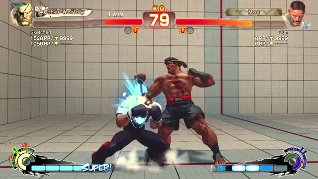 My spacing is so clean StreetFighter GIF