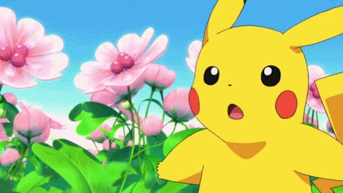 Watch and share Pikachu Pokemon Eevee And Friends Omg Why Is The New Pokemon...so Shiny GIFs on Gfycat