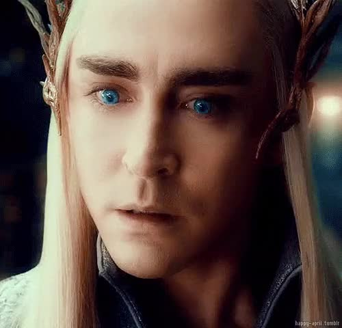 Watch and share The Hobbit Imagines GIFs and Thranduil Imagines GIFs on Gfycat