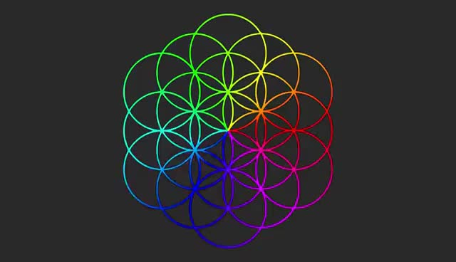 Watch and share Everglow [Version 1] & Spinning Flower Of Life (Coldplay Cover) GIFs on Gfycat