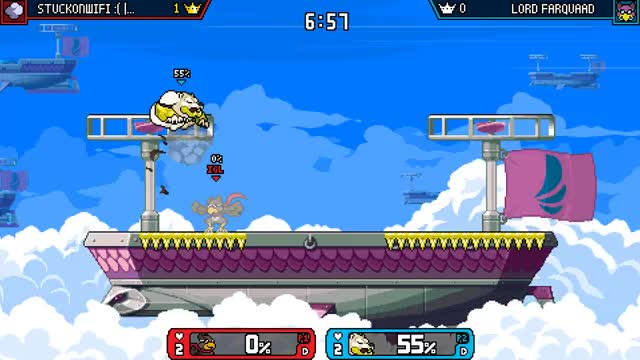 Watch and share Rivals Of Aether GIFs and Edgegaurd GIFs by IGL aka iggle on Gfycat