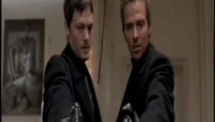 Watch The Boondock Saints Hotel Shootout GIF by Norman-Freak89 (@norman-freak89) on Gfycat. Discover more blood, boondock, funny, guns, guts, rope, saints, shooting, spy, the GIFs on Gfycat