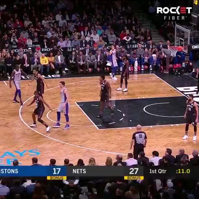 Watch and share Brooklyn Nets GIFs and Basketball GIFs on Gfycat