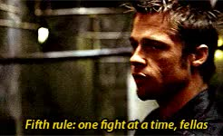 Watch and share El Club De La Lucha GIFs and Rules Of Fight Club GIFs on Gfycat