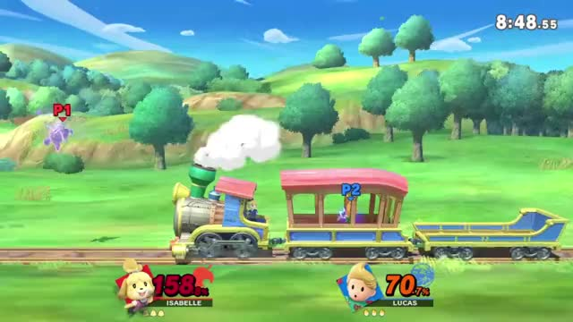 Watch Smash Ultimate - Isabelle Up B Death GIF by Fooni Ventes (@fooniventes) on Gfycat. Discover more /r/Pokemon Discord, Fooni, Isabelle, Lucas, Navy, Smash Ultimate, Spirit Train, Train GIFs on Gfycat
