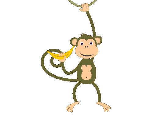 Monkey, Sticker, animal, cute, sticker pack, zoo, Money Sticker GIFs