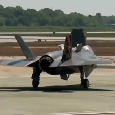 F-35 Lightning Vertical Takeoff Test GIFs