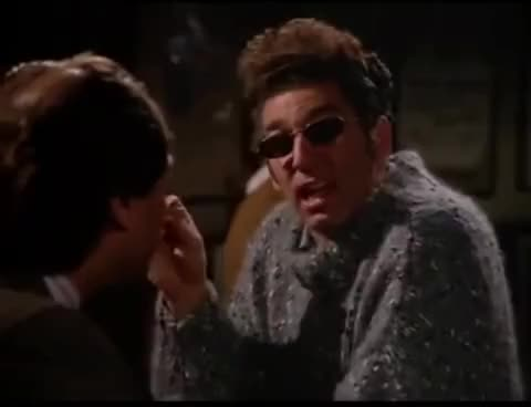 Watch and share Kramer - Smoke - Drink W/Blooper GIFs on Gfycat