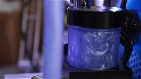gif, purple, watercooling, Hardware Porn GIFs