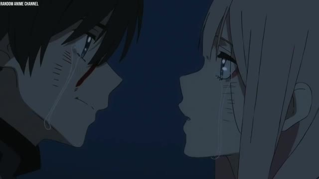 Watch Hiro Kissed and Confessed to Zero Two - Darling in the FranXX Episode 15 GIF on Gfycat. Discover more satire GIFs on Gfycat