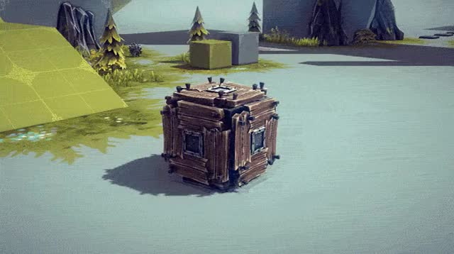 Watch and share Besiege Cube GIFs on Gfycat