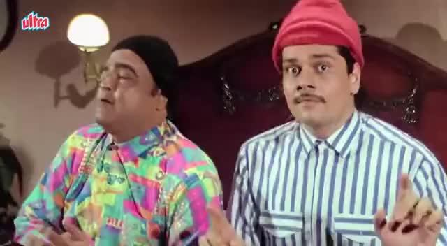 Watch and share Salman Khan, Karishma Kapoor Superhit Romantic Song Ye Raat Aur Ye Doori -  Movie Andaz Apna Apna GIFs on Gfycat