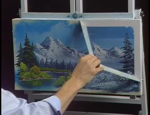 Watch and share Bob Ross - Seasonal Progression (Season 29 Episode 3) GIFs on Gfycat